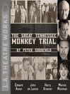 Cover image for The Great Tennessee Monkey Trial