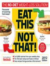 Men's Health Eat This Not That 2012