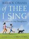 Cover image for Of Thee I Sing