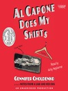 Al Capone does my shirts [Audio eBook]