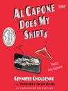 Al Capone does my shirts [Audio eBook]