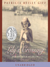 Cover image for Lily's Crossing
