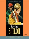 Cover image for Saving Shiloh