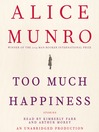 Too Much Happiness