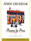 Cover image for Playing for Pizza