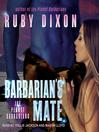 Barbarian's Mate--A SciFi Alien Romance