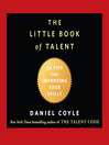 Cover image for The Little Book of Talent