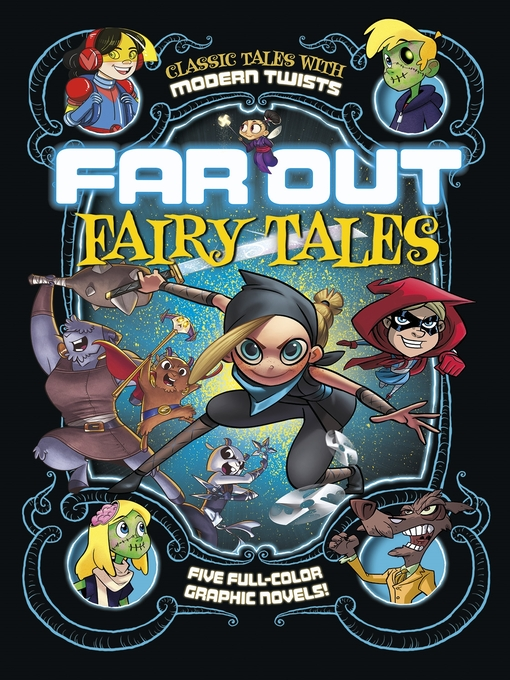 Cover image for Five Full-Color Graphic Novels