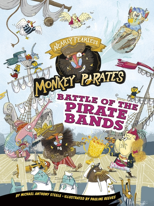 Battle of the pirate bands : a 4D book