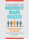 A Guide to Nonprofit Board Success