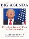 Big agenda [eBook] : President Trump's plan to save America