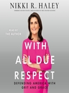 With All Due Respect [EAUDIOBOOK]