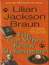 The Cat Who Knew Shakespeare cover