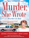 Cover image for Murder, She Wrote--Murder in Red
