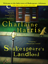 Cover image for Shakespeare's Landlord