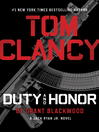 Cover image for Duty and Honor
