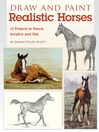 Cover image for Draw and Paint Realistic Horses