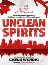 Cover image for Unclean Spirits