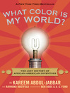 Cover image for What Color Is My World?