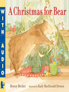 Cover image for A Christmas for Bear