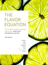 Cover image for The Flavor Equation