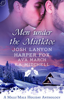 Cover image for Men Under the Mistletoe: Lone Star\Winter Knights\My True Love Gave to Me\The Christmas Proposition
