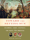 Cover image for Toward the Setting Sun