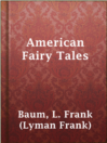 Cover image for American Fairy Tales
