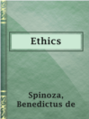 Cover image for Ethics