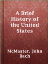Cover image for A Brief History of the United States