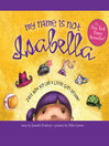 Cover image for My Name is Not Isabella