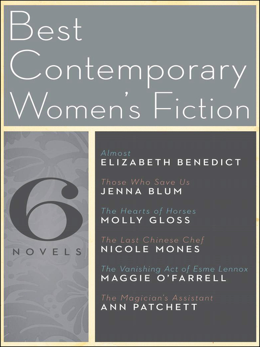 Cover image for Best Contemporary Women's Fiction