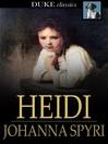 Heidi / Johanna Spyri