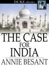 Cover image for The Case for India