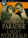 Cover image for This Side of Paradise