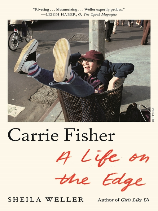 Cover image for Carrie Fisher--A Life on the Edge