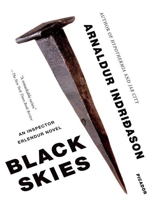 Black skies : an Inspector Erlendur Novel