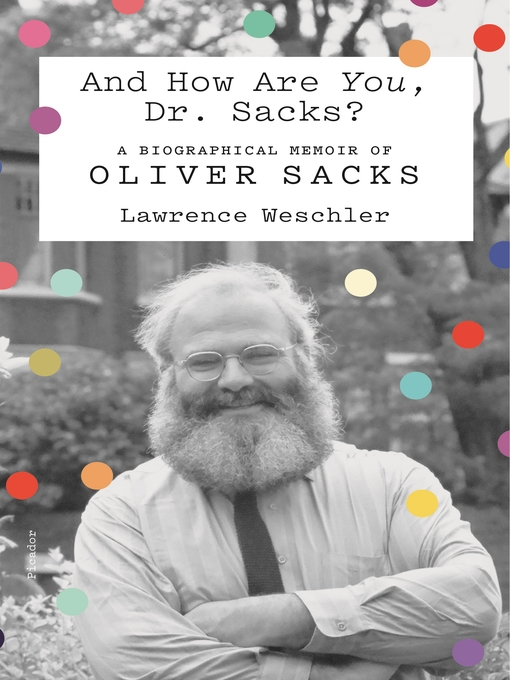 And How Are You, Dr. Sacks?