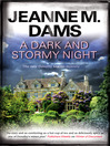 A dark and stormy night : a Dorothy Martin mystery