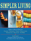 Cover image for Simpler Living