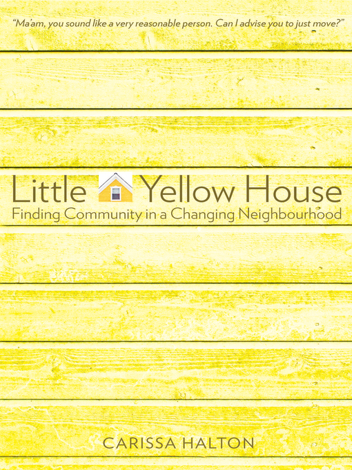Cover image for Little Yellow House