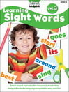 Learning Sight Words, Volume 3