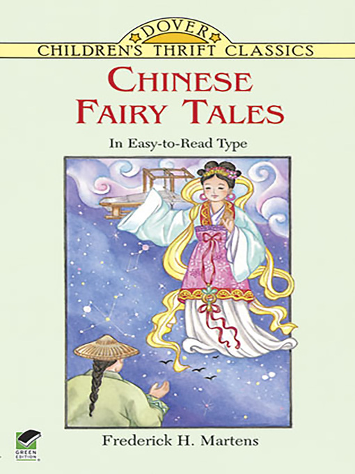 Cover image for Chinese Fairy Tales