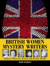 Cover image for British Women Mystery Writers