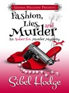 Cover image for Fashion, Lies, and Murder