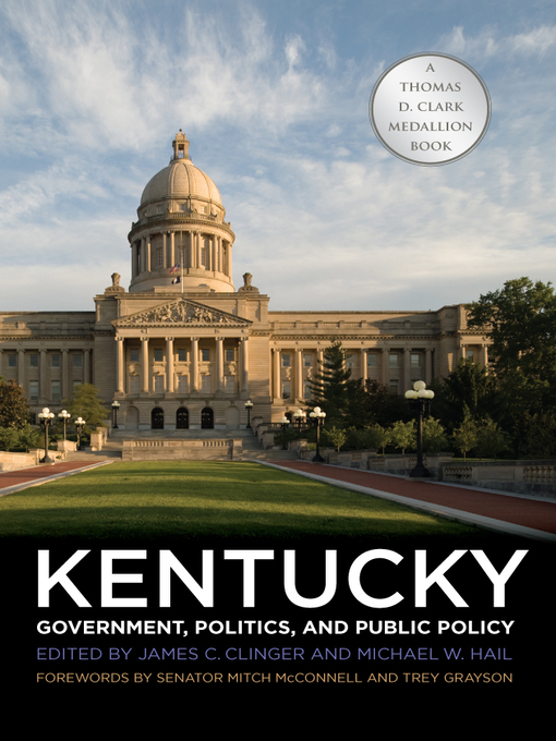 Cover image for Kentucky Government, Politics, and Public Policy