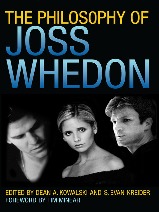 Cover image for The Philosophy of Joss Whedon