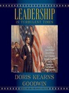 Leadership in turbulent times [EAUDIOBOOK]
