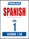 Pimsleur Spanish Level 1 MP3
