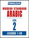 Pimsleur Arabic (Modern Standard) Level 2 MP3